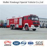 8ton de Vrachtwagen Euro2 van de Brand van de Brandbestrijding van de Tank van het Water van de Chassis van Steyr