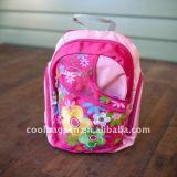(KL179) O bebê da trouxa dos desenhos animados das crianças caçoa o saco de escola