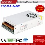 12V 20A 250W 3D Printer Switching Power Supply met Fan