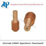 Electrode 220.669 pour Powermax 45 torche de coupage plasma Consommables 45A