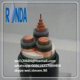 cabo elétrico de cobre subterrâneo do UG de 8.7KV 10KV