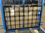 新しいデザインは中国からのテーブルの上の家具のための2つのオプションの使用を用いる染められたガラスを強くした