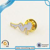 Подгонянный значок Pin отворотом эмали плакировкой золота металла трудный