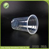 Kundenspezifische WegwerfplastikEspresso-Großhandelscup mit gedichteten Abdeckung-Kappen