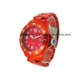 Wristwatch роскошного конструктора Mens металлический goldtone