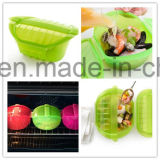 Lekue Supplier Food Grade FDA Aprovado 100% Platnum Silicone Cooking Box Steaming Box