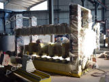 花こう岩または大理石の柱のカッター機械(DYF600)が付いている石造りの手すりの打抜き機