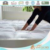 Gesteppter befestigter Matratze-Deckel mit elastischer Fußleiste