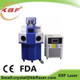 60W/100W/200W YAG 높은 정밀도 보석 Laser 점용접 기계