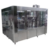 Het volledige Automatische het Spoelen van de Fles PE/PP/HDPE Vullen met de Verzegelende Machine van de Aluminiumfolie
