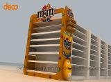 Soporte de acrílico de la exposición del estante de visualización del estante de visualización del supermercado