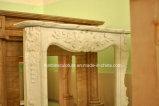 Cornija de lareira de mármore de venda quente da chaminé no estoque (SY-MFP12305)