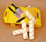 Insieme professionale del rullo di vernice degli strumenti 3PCS della pittura del kit della vernice
