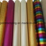 Lámina para gofrar caliente colorida para el papel, cuero, materia textil, plástico