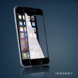 iPhone7のための3Dによって曲げられる9h緩和されたガラスフィルムスクリーンの保護装置