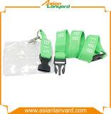 Kundenspezifische Sicherheits-Klipp Identifikation-Kartenhalter-Abzuglinie