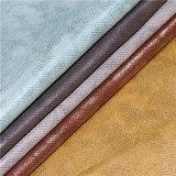 Qualitätstrukturiertes Faux PU-Schuh-Leder mit Perlen-Effekt