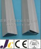 6063 T5サンドブラスティングによって陽極酸化されるアルミニウム放出のプロフィール、アルミニウムプロフィール中国(JC-P-84072)