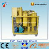 Máquina usada desperdício Purifying do óleo de lubrificação do petróleo da turbina (TY)