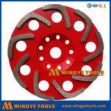 콘크리트와 석공술 표면을%s 다이아몬드 컵 바퀴