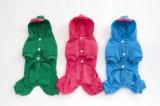 Petits vêtements d'animal familier de Coton de pattes du tissu deux de crabot de nounours neuf de type
