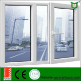 Doppelverglasung-Aluminiumglasflügelfenster-Fenster mit dem Niedrigen-e Glas hergestellt in China