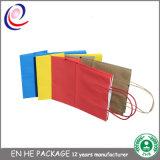 Sacs en papier directs de Brown Papier d'emballage de sacs à provisions d'usine pour des achats