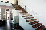 隠れる木製の浮遊ステアケース/DIY木製階段縦桁