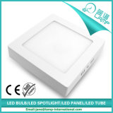 Luz del panel redonda montada superficie de 12W LED