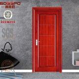 安い固体木の設計されたMDFの内部ドア(GSP8-011)