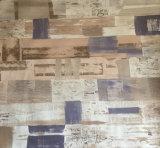 Papel decorativo del nuevo diseño 2016 para el suelo laminado