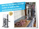 Stuffer manuel vertical de saucisse d'acier inoxydable de capacité différente