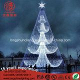 Il LED illumina in su l'indicatore luminoso dell'albero di Natale di pagina d'acciaio 12m/6m di Gaint