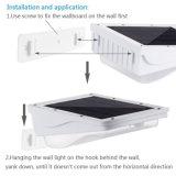 1PCS 3W 38LED PIR Infrarotgarten-Pfad-Sicherheits-Notleuchte der bewegungs-Fühler-Solarlampen-Wand-Lampen-im Freien LED helle