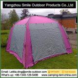 Tenda di campeggio dentellare d'argento quadrata di sonno leggero delle 4 persone
