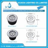 Luzes de fonte subaquática LED de aço inoxidável IP68 de alta potência