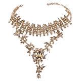 方法贅沢なラインストーンの水晶ダイヤモンドカラー文のチョークバルブのネックレスの宝石類