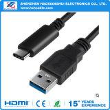 tipo di carico rovesciabile cavo del USB 3.1 del telefono di 1m di C