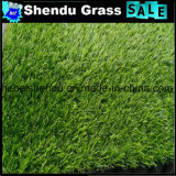grama artificial do verde da altura de 20mm com material do PE