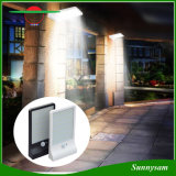 36 luzes impermeáveis da parede da lâmpada da segurança do jardim da luz do sensor de movimento da luz de rua PIR da potência solar do diodo emissor de luz