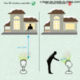 屋外および屋内のためのレーザーのクリスマスの照明