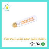 Stoele T10/T30 UL 열거된 Dimmable LED 필라멘트 전구