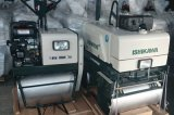 Mini fábrica de Guangzhou del rodillo de camino del compresor vibratorio del suelo