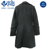 Newstyle Knitted Long-Sleeve Button Pockets Loose Fashion Ladies Coat