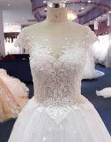 Qualitäts-empfindlicher Spitzenverkaufs-reales Abbildung-Hochzeits-Kleid
