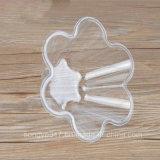 Cuvette en plastique remplaçable claire de crême glacée d'animal familier