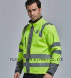 Workwear de la chaqueta de la seguridad de la visibilidad del estilo básico del invierno alto