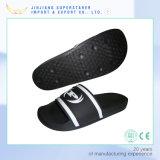 Sandálias internas Funky personalizadas de EVA dos deslizadores superiores dos homens do PVC