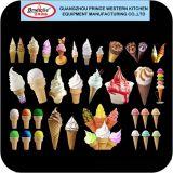3 preços macios da máquina do iogurte congelado da máquina do gelado do saque dos sabores