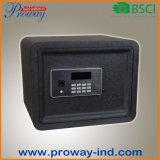Cofre forte esperto eletrônico de Digitas do indicador do LCD do revestimento da ondinha da água que pode conetar ao telefone móvel APP, à alta segurança resistente para a HOME e ao escritório